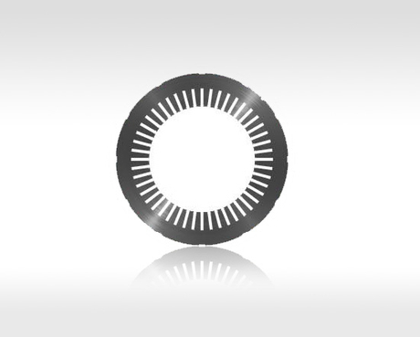 The high-pressured electrical machinery stator flushes the piece